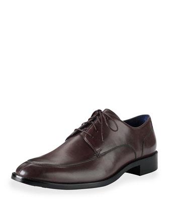 Lenox Hill Split Leather Oxford, T Moro