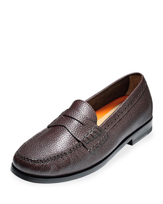 Pinch Grand Leather Penny Loafer, Java
