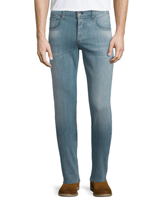Del Sur Light Wash Denim Jeans, Lightwash Blue