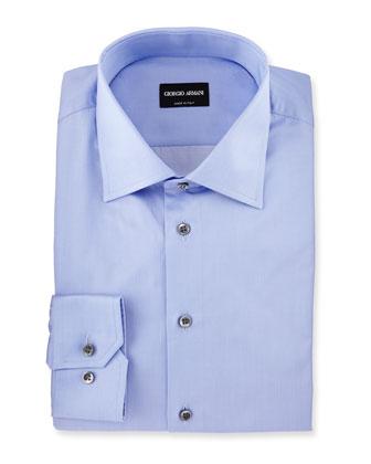 Solid Dress Shirt, Lavender
