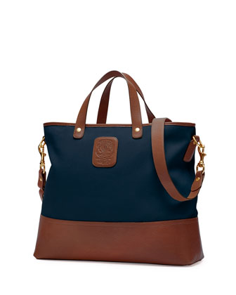 Editor No. 271 Large Twill Tote Bag, Navy