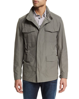Four-Pocket Field Jacket, Sand