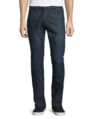 Sartor Cosmonaut Slim-Fit Denim Jeans, Blue