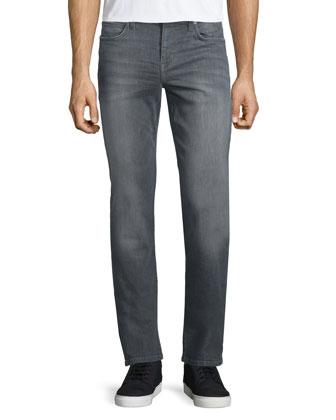 Stetson Slim-Fit Denim Jeans, Gray