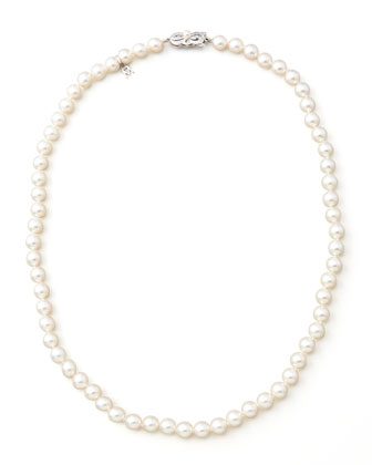 Akoya Strand Necklace, 20