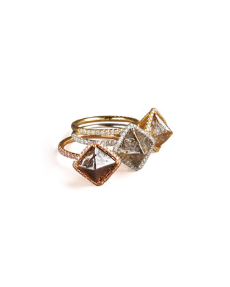 Dark Cognac Diamond Ring