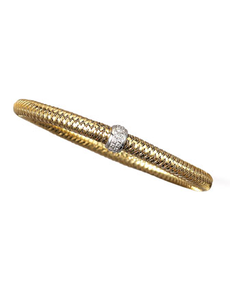 Diamond Primavera Bracelet, Yellow Gold