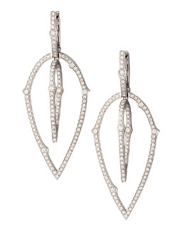 Stephen Webster 3D White Diamond Earrings