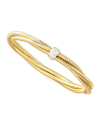 Primavera Diamond Bangle