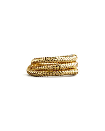 Primavera Three-Row Ring