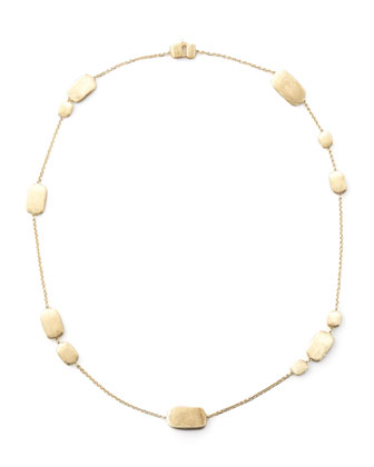 Murano Gold Strand Necklace
