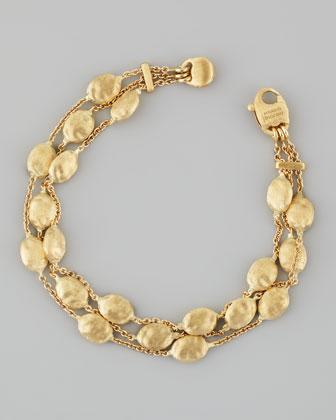 Siviglia 18K Gold 3-Strand Bracelet
