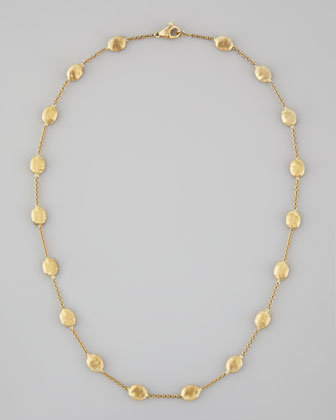 Siviglia 18K Gold Single-Strand Necklace, 16