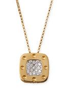 18k Yellow Gold Pois Moi Diamond Pendant Necklace