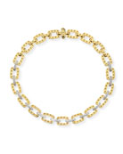 18k Yellow Gold Pois Moi Necklace with Diamonds, 16