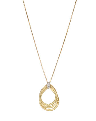 Cairo 18k Pendant Necklace with Diamonds