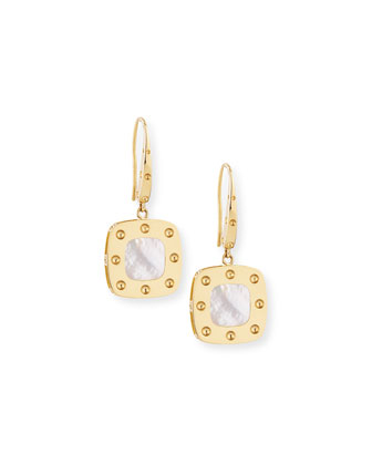 Pois Moi 18k Mother-of-Pearl Dangle Earrings