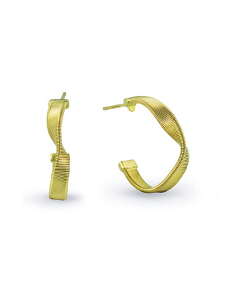 Marrakech Supreme 18k Gold Hoop Earrings