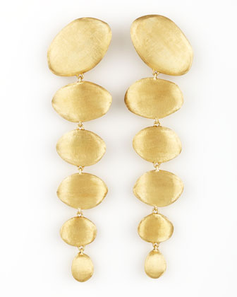 Confetti Oro Gold Drop Earrings