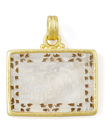 Chinese Gambling Counter Pendant