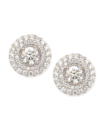 Maria Canale for Forevermark Petite Deco Treasures Luna Stud Earrings