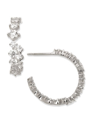 Maria Canale Anniversary Collection Diamond Hoop Earrings
