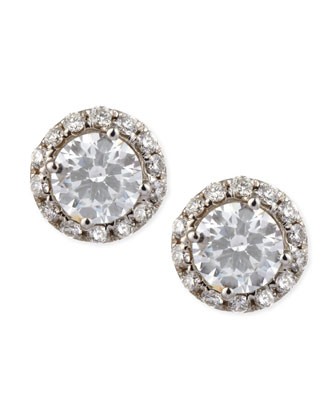 Center of My Universe Diamond Stud Earrings