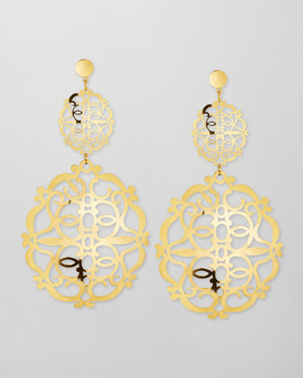 Noto 2 18k Gold Earrings