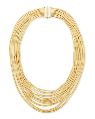 Cairo 18k Seventeen-Strand Necklace