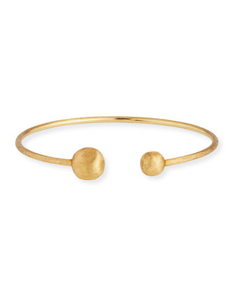 Africa 18k Kissing Bangle