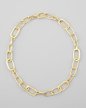 Murano 18k Yellow Gold Large-Link Necklace, 20