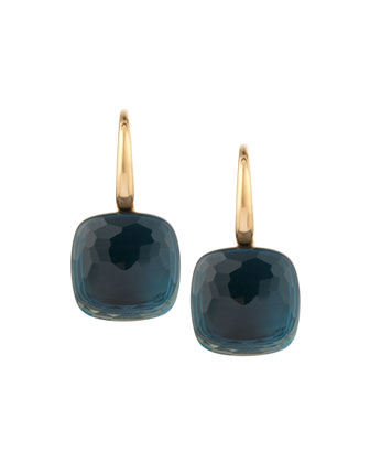 Nudo 18k London Blue Topaz Earrings