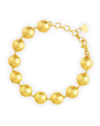 Lentil 24k Gold Bracelet
