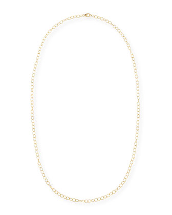 Mogul 18k Yellow Gold Cable Chain Necklace, 30