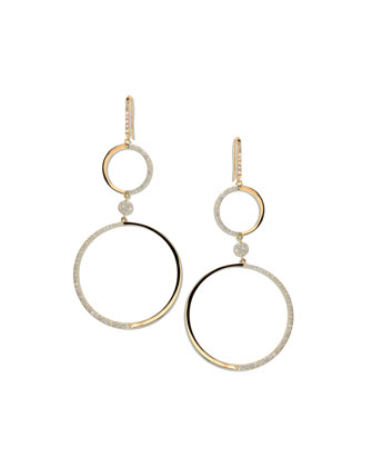 14k Femme Fatale Earrings with Diamonds