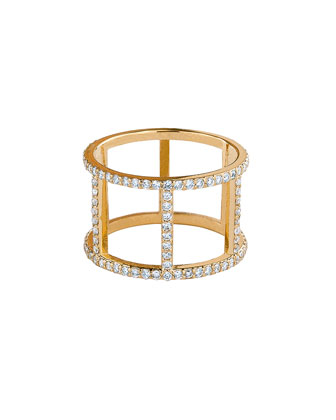14k Fatale Dash Ring with Diamonds
