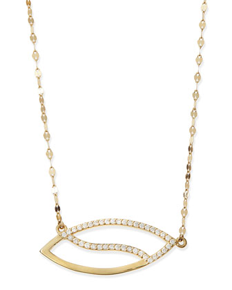 Diamond Femme Marquise Necklace