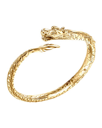 Naga 18k Gold Kick Cuff Bracelet