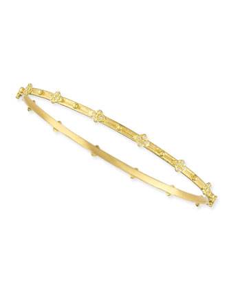 Sueno 18k Diamond Cravelli Bangle