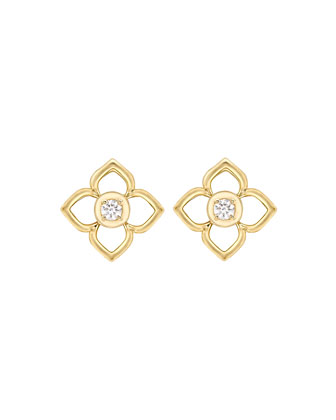 Aurora Diamond Stud Earrings