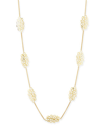 Sealeaf Collection 18k Yellow Gold Necklace
