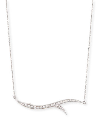 Thorn Pave Diamond Necklace