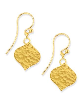 24k Single Clove Drop Earrings