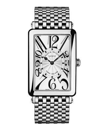 Ladies Long Island Stainless Steel Watch