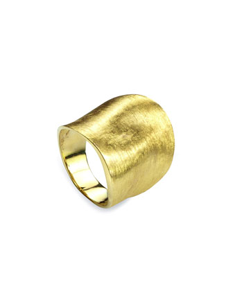 Lunaria 18k Gold Large Ring