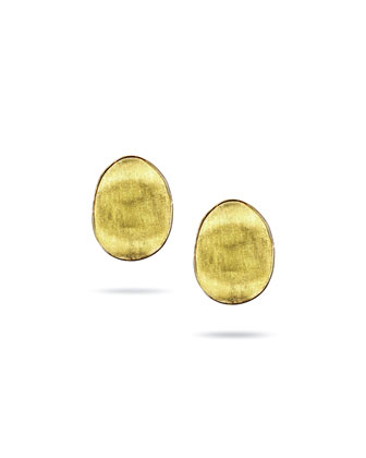 Lunaria 18k Gold Large Stud Earrings