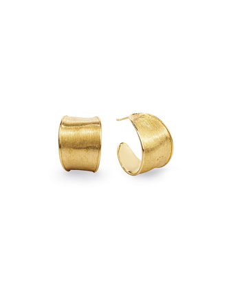 Lunaria 18k Gold Hoop Earrings