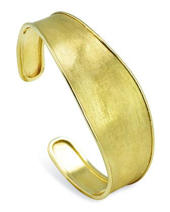 Lunaria 18k Gold Cuff