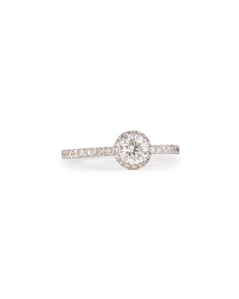 Joy Diamond Ring with Halo
