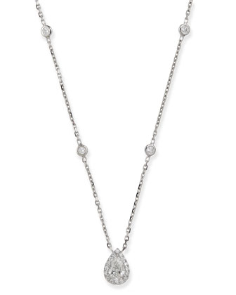 Joy Pear-Shaped Diamond Pendant Necklace